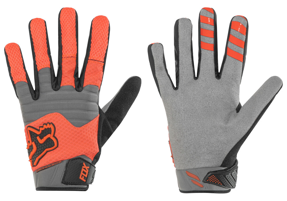 fox sidewinder polar gloves men flou orange online kaufen. Black Bedroom Furniture Sets. Home Design Ideas